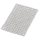 216PCS 3mm NdFeB Magnet Magnetic Beads Educational Toy - Silver