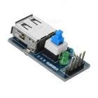 USB Power Converter Module for Arduino - Blue
