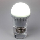 E27 7W Human Body Induction 19-LED Neutral White Emergency Lamp Bulb