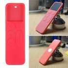 Dustproof Case Silicone Cover for Apple TV 4 Remote Controller - Pink