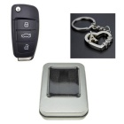 SAMDI Car Key Style USB 2.0 Flash Drive - Preto (4GB)