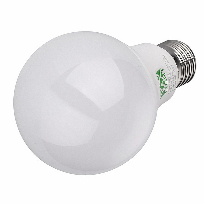 YWXLight E27 12W 3000K caliente de la lámpara LED blanco - blanco (AC 100 ~ 240V)