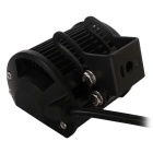 FLOOD 18W 1800lm 6-LED White Light Car Working Lamp - Black (4PCS)
