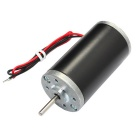 DIY DC24V 5000RPM Strong Magnetic High Torque Tubular Motor - Black
