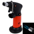 Outdoor Creative Small Butane Jet Gas Lighter - Red