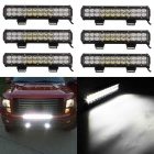 24 LED 72W Combo 7200lm Waterproof Lamp Car Trabalho - Black (6PCS)