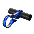 MZYRH Bike Handlebar Extension Clamp Mount Holder - Black + Blue