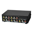 MT-431AV 5-Port AV Audio Video Switcher - Black (4-IN/1-OUT)