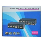 MT-431AV de 5 puertos AV Audio Video Switcher - Negro (4-IN / OUT 1)