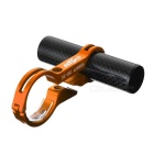 MZYRH Bike Handlebar Extension Clamp Mount Holder - Black + Golden