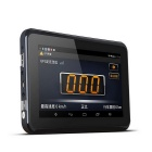 "7 ""HD Android4.4 Car 1080P DVR og Radar Detector m / RU Kart - Deep Blue"