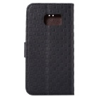 Protective PU + TPU Full Body Case for Samsung Galaxy S7 - Black