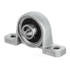 Mini Vertical Bearing Holder Pillow Block w / cuscinetto per DIY - Argento