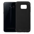 TPU + Silicone Case for Samsung Galaxy S7 Edge - Black