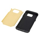 TPU + Silicone Case for Samsung Galaxy S7 Edge - Champagne