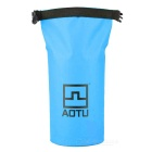 AoTu AT6623 Outdoor Waterproof Bag for Phone / Camera - Blue + Black
