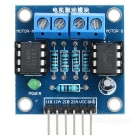 2-Way DC Motor Drive Module for Arduino - Blue