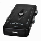 MT-401UK 4-Port USB 2.0 KVM Manual Switcher - Black