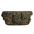 Outdoor Multifunctional Oxford Nylon Tactical Bag Waist Bag for Swimming, Travel - Camouflage (0.5L)