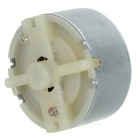 Mini 500 DC Kobber Gear Motor for Solar Leker DIY - Silvery Grey