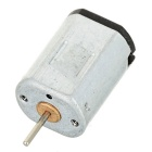 DC 3V N20 High Speed Motor for DIY Model - Black + Silver