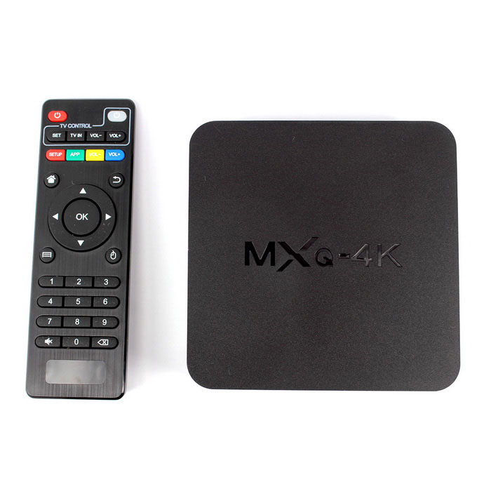MXQ 4K RK3229 Android 4.4 TV Player w/ 1GB RAM�� 8GB ROM - Black