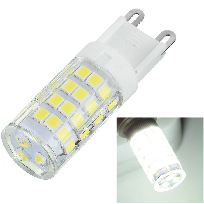 Marsing G9 6W 500lm 51-2835 SMD Cold White Corn Lamp Bulb