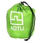 AoTu AT6222 Outdoor Practical Air Inflatable Camping Pillow - Green