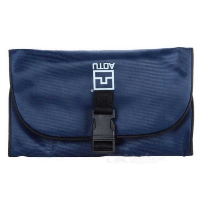 AOTU AT6903 Portable Wash Bag for Outdoor Activities - Dark Blue (1L)