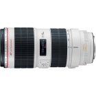 Canon EF 70-200mm f/2.8L IS II USM Telephoto Zoom Lens - White + Black