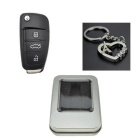 SAMDI Car Key Style USB 2.0 Flash Drive - Black (32GB)
