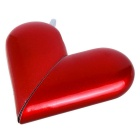 Creative Foldable Heart Shape Butane Gas Lighter - Red