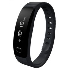 "Waterproof Bluetooth V4.0 Silicone Bracelet w/ 0.84"" OLED"