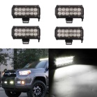 Flood Beam Work Light Bar - Black (DC 10~30V / 4PCS)