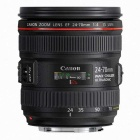 Canon EF 24-70mm f/4.0L IS USM Standard Zoom Lens - Black