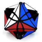 8-Axis Magic Star Cube - Black + + Orange + Multicolor
