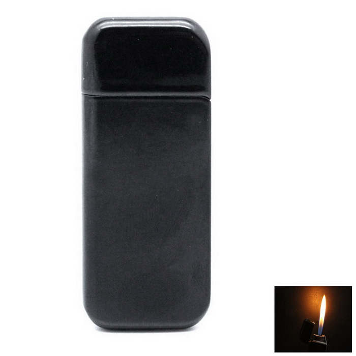 Ultra-Thin Butane Gas Lighter - Black