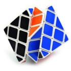 8 Eixo 6-Side Irregular IQ Magic Cube - White + multicolorida