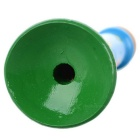 Wooden Mini Trumpet / Whistle Toy - Blue + Green + Multicolor