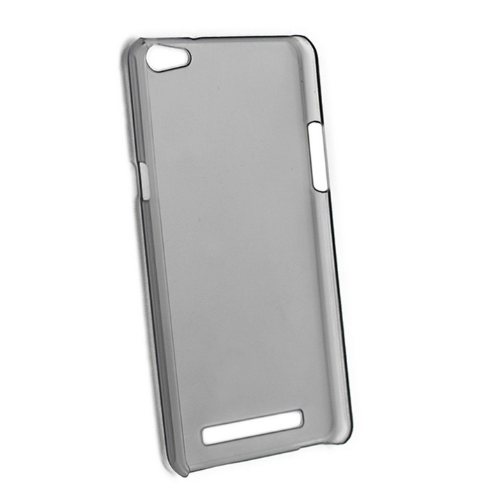 Protective PC Back Case for SISWOO C55 - Translucent Grey
