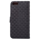 Protective PU + TPU Full Body Case for IPHONE SE / 5 / 5S - Black