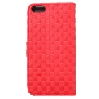 Protective PU + TPU Full Body Case for IPHONE SE / 5 / 5S - Red