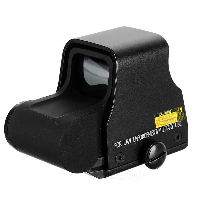1X Rifle Gun Sight Scope for M24, G3 - BlackGun Scopes &amp; Sights<br>Form  ColorBlackMaterialAluminium alloyQuantity1 DX.PCM.Model.AttributeModel.UnitGun TypeApplied to M24, G3 and other guns for precise shootingMount TypeWeaverMagnification1XLaser WavelengthNoLaser Reaching Range300mLaser ColorOthers,Inner red / green circle dots transferedPacking List1 * Gun Scope1 * Quick release bracket1 * CR123A battery1 * Hood1 * Hex wrench1 * English user manual1 * Cleaning cloth<br>
