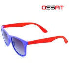 OSSAT MX-1008 UV400 Protection Sunglasses - Orange + Purple