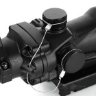 1X 32mm Mil-dot Rifle Gun Scope for M16, G3 - Black
