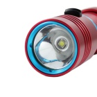 KINFIRE IPX8 Diving Flashlight - Red + Blue (1 * 18650 / 26650)