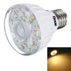 Qook E27 2W Warm White Light IR Sensor LED Bulb - White (AC 220~240V)