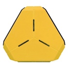 4-Port USB Power Socket - Yellow
