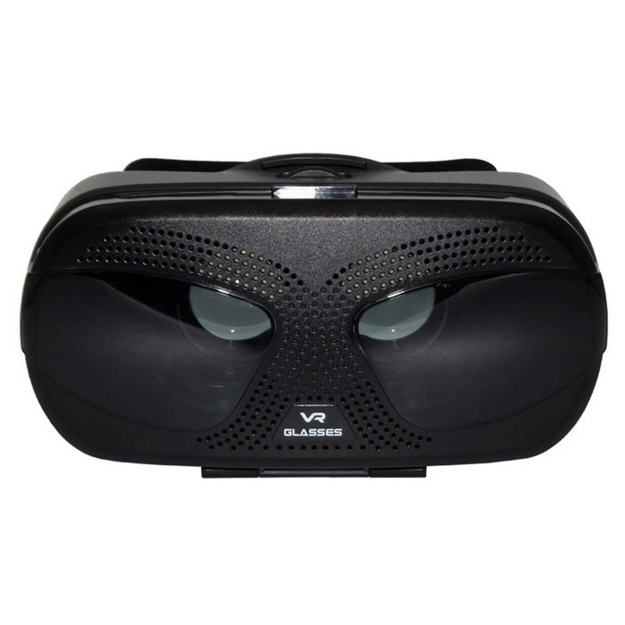 "Virtual Reality Glasses 3D Glasses Box for 3.5~6"" Phones - Black"