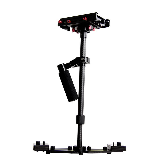 YELANGU S700 Professional Handheld Stabilizer - Black + RedOther Accessories<br>Form ColorBlack + RedModelS700MaterialCarbon fiber + aluminum alloyQuantity1 DX.PCM.Model.AttributeModel.UnitCompatible ModelAll SLR cameras and home DV camerasPacking List1 x YELANGU stabilizer1 x Carrying bag1 x Hex wrench<br>